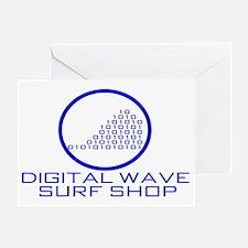 DWSS Logo on Circle Background Greeting Card
