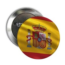 "Flag of Spain 2.25"" Button"