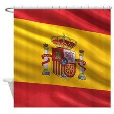 Flag of Spain Shower Curtain