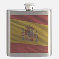 Flag of Spain Flask
