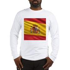 Flag of Spain Long Sleeve T-Shirt