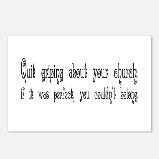 Perfect Church Postcards (Package of 8)