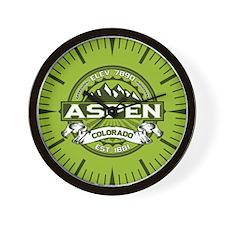 Aspen Green Wall Clock