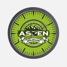 Aspen Green Wall Clock