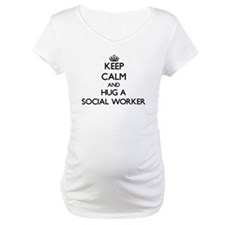 Keep Calm and Hug a Social Worker Shirt