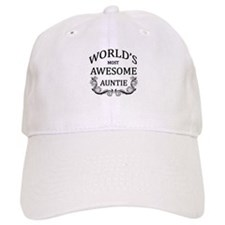 World's Most Awesome Auntie Baseball Cap
