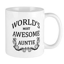 World's Most Awesome Auntie Mug
