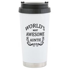World's Most Awesome Auntie Travel Mug