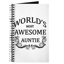 World's Most Awesome Auntie Journal