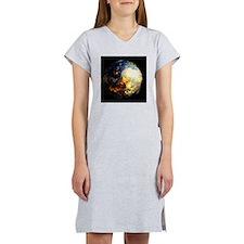Fire Inferno Women's Nightshirt