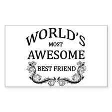 World's Most Awesome Best Friend Decal