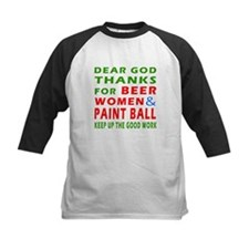 Beer Women and Paint Ball Tee