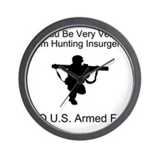 U.S. Armed Forces Wall Clock