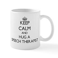 Keep Calm and Hug a Speech Therapist Mugs