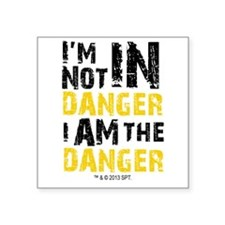"""Breaking Bad: I am the Dang Square Sticker 3"""" x 3"""""""