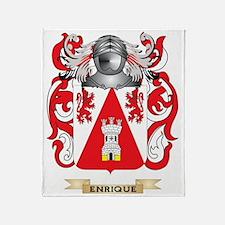 Enrique Coat of Arms Throw Blanket