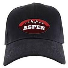 Aspen Red Baseball Hat