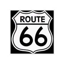Route sign Sticker