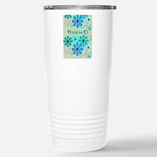 pharmD retro flowers 4 Travel Mug