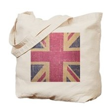vintage UK flag fashion Tote Bag