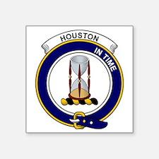 "Houston Clan Badge Square Sticker 3"" x 3"""