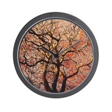FireTree - 9x12 Wall Clock