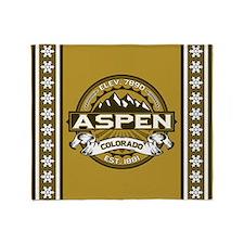 Aspen Tan Throw Blanket