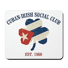 CUBAN-IRISH-SOCIAL2 Mousepad