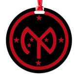 Roughnecks Round Ornament
