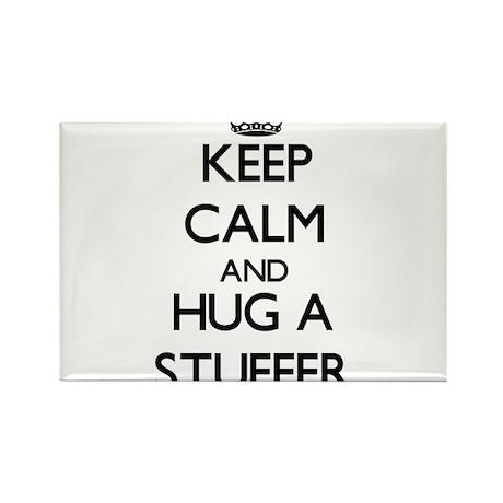 Keep Calm and Hug a Stuffer Magnets