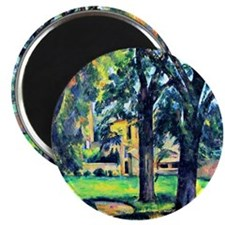 Cezanne - Chestnut Tree and Farm Magnet