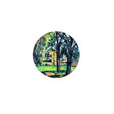 Cezanne - Chestnut Tree and Farm Mini Button