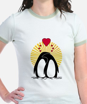 Loving Penguins (sunburst) T
