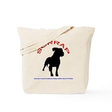 Logo Design Larger Light Tote Bag
