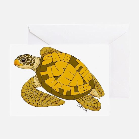 Save Turtles! Greeting Card