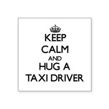 Keep Calm and Hug a Taxi Driver Sticker