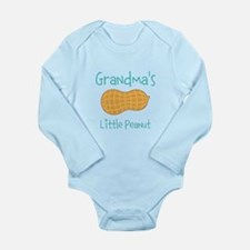 Personalized Little Peanut Long Sleeve Infant Body