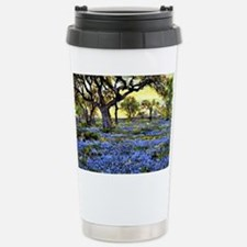 Old Live Oak Tree and Bluebonne Stainless Steel Tr
