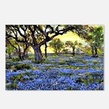 Old Live Oak Tree and Blu Postcards (Package of 8)