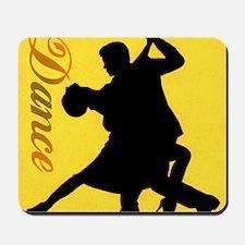 Dance Couple Silhouette Mousepad