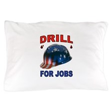 DRILLER HAT Pillow Case