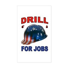 DRILLER HAT Decal