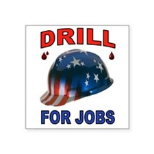 DRILLER HAT Sticker