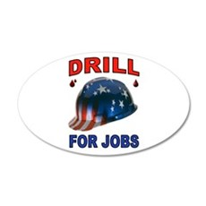 DRILLER HAT Wall Decal