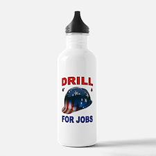 DRILLER HAT Water Bottle