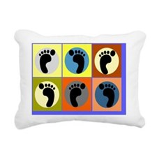 Podiatrist 1 Rectangular Canvas Pillow