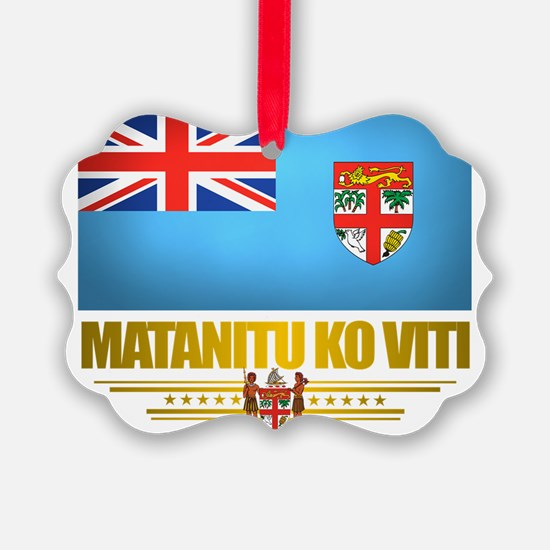Fiji (Flag 10)2 Ornament