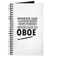 Cool Oboe designs Journal