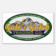 Galt's Gulch Trading Co. Decal