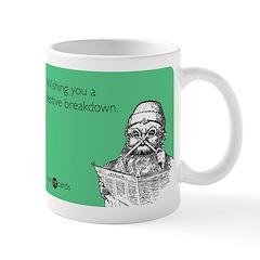 Festive Breakdown Mug